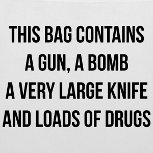 This bag contains a gun