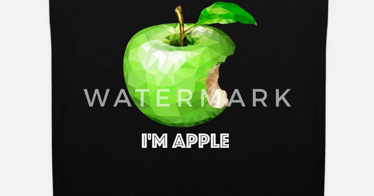 Apfel Herbst Lustige Sprüche Student Apfelbaum Stoffbeutel Spreadshirt