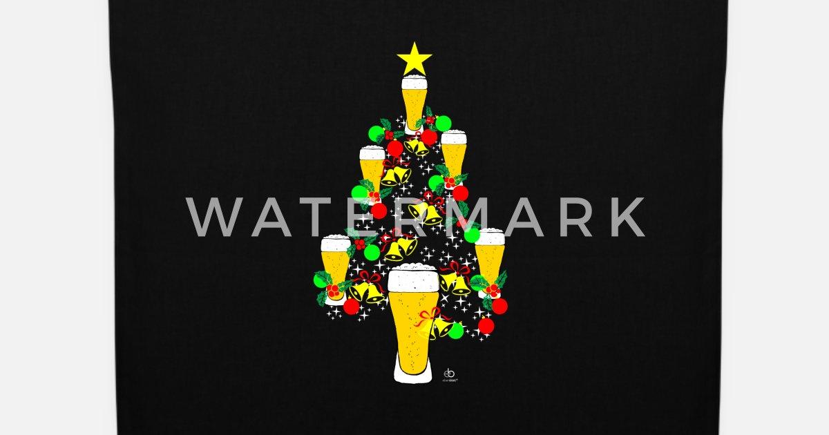 Bier Weihnachtsbaum.Weihnachtsbaum Bier Weihnachten Xmas Beer Geschenk Stoffbeutel Spreadshirt