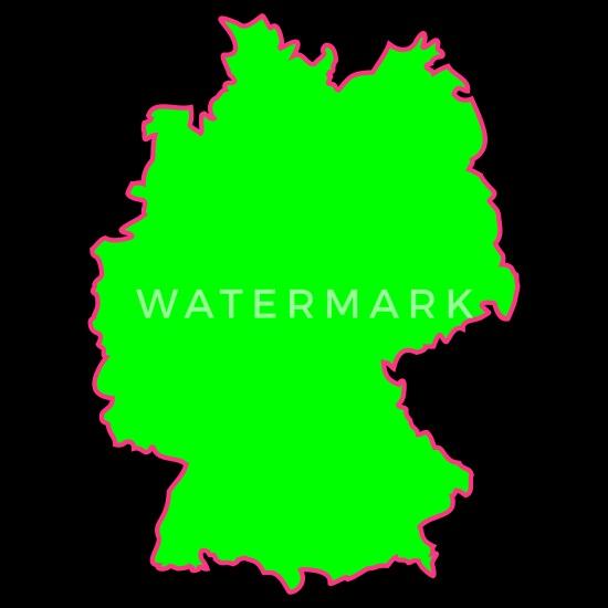 Deutschland Deutschlandkarte Karte Land Stoffbeutel