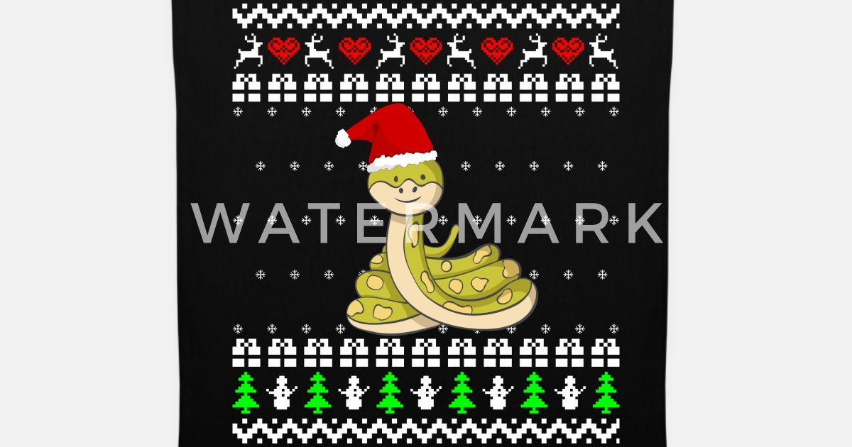 Süße Schlange Ugly Sweater Geschenk Weihnachten von andybundy ...