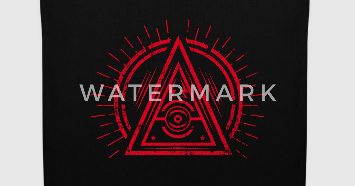 Illuminati All Seeing Eye Satan Black Symbol Van Badbugs
