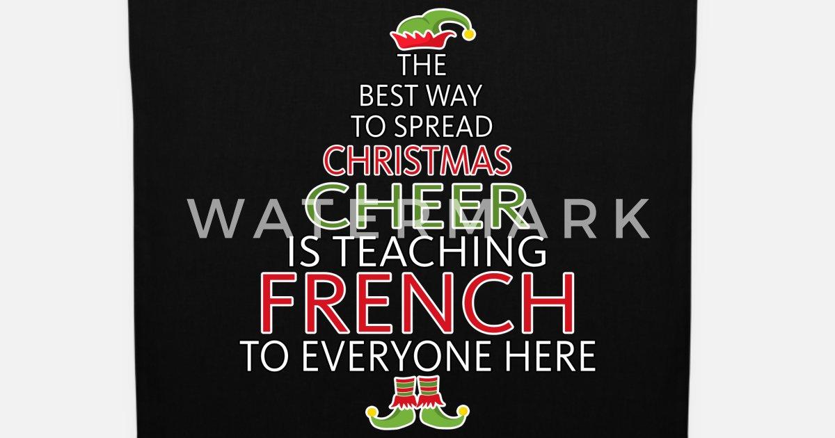 Französisch Lehrer Geschenk Weihnachten Elf von | Spreadshirt
