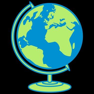 Globus Weltkugel Karte.Weltkugel Buttons Klein 25 Mm 5er Pack Weiß