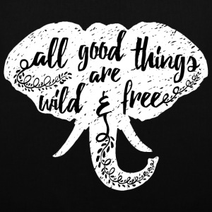 Animal Planet Elephant Typography Quote