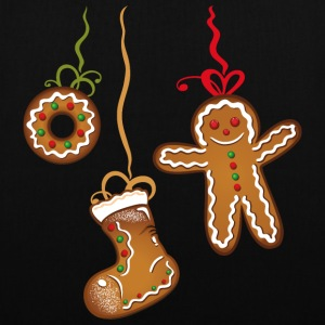 Christmas Cookies. Gingerbread man and boots.