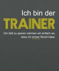 Geschenk abschied trainer
