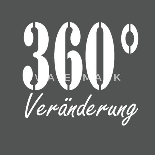 Lustiger Spruch Neuanfang 360 Grad Im Kreis Drehen Stoffbeutel