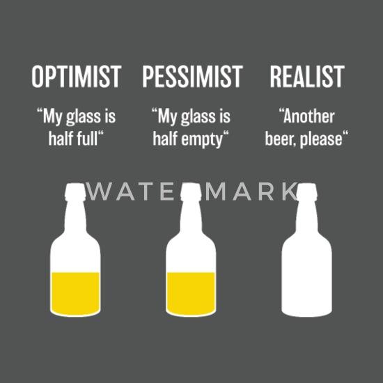 Optimist realist pessimist Difference Between