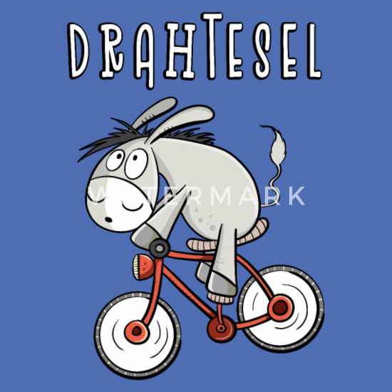Drahtesel I Fahrrad Esel I lustiges Geschenk Stoffbeutel | Spreadshirt