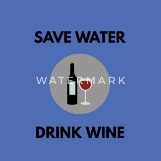 Spar vann drikke vin Stoffveske | Spreadshirt
