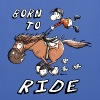 Born to Ride - Stoffbeutel