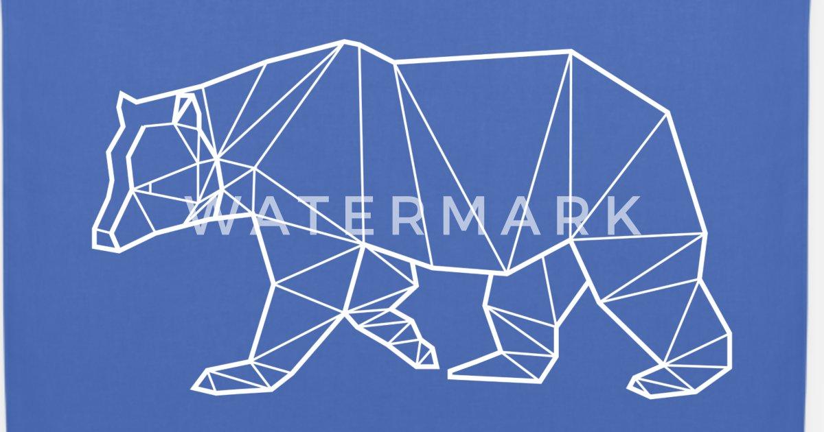 07bd2e478d White Bear - Animal Prism Tote Bag