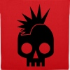 PUNK BABY skull with mohawk - Tote Bag