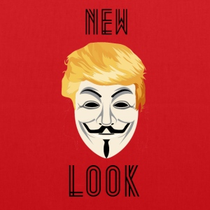 New Look Transparent /Anonymous Trump - Borsa di stoffa