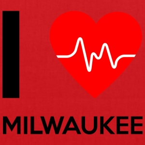 I Love Milwaukee - I love Milwaukee - Tote Bag