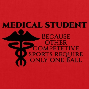 Doktor / Arzt: Medical Student, because other - Stoffbeutel