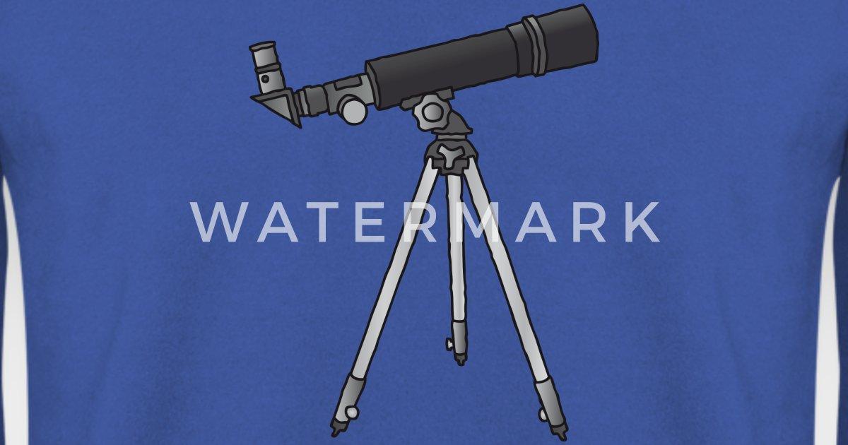 Teleskop astronomie c männer pullover spreadshirt
