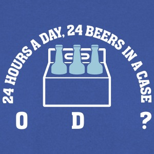 24 Hours A Day ,24 Beers In A Case,Coincidence? - Men's Sweatshirt