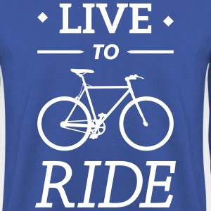 live to ride fixie cycling bicycle sport saying