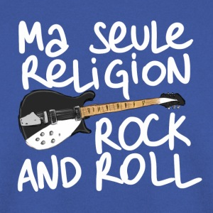 Ma seule religion : Rock and roll ! (Guitare) - Sweat-shirt Homme
