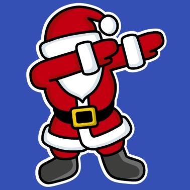 Kersttrui Dab.Santa Dab Dabbing Skeleton Mannen Joggingbroek Spreadshirt