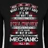 Mechanic - The way I am - EN - Bluza męska