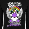 November - Birthday - Unicorn - Queen - EN - Men's Sweatshirt