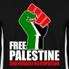 Free Palestine end Israeli Occupation - Men's Sweatshirt