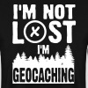 I'm not lost. I'm geocaching - Mannen sweater