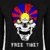 skull free tibet - Sweat-shirt Homme