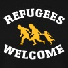 Refugees Welcome - Sweat-shirt Homme