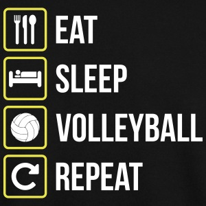 Eat Sleep Volleyball Repeat - Männer Pullover