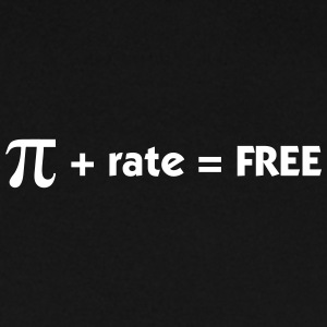 Pi Rate = Free - Men's Sweatshirt