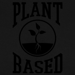vegan t shirt plant based - Men's Sweatshirt