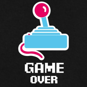 Game Over Logo Text - Männer Pullover