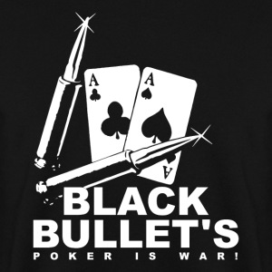 Poker - Sort Bullets - Herre sweater