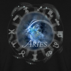 aries Capricorne image horoscope signe du zodiaque - Sweat-shirt Homme