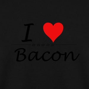 I Love Bacon - Men's Sweatshirt