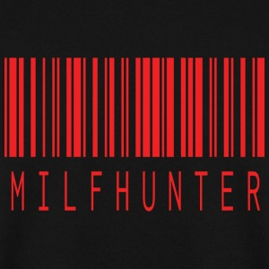 Milfhunter BARCODE ROUGE - Sweat-shirt Homme