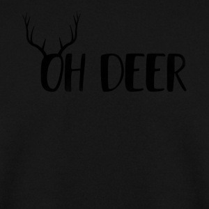 Oh Deer Ugly jul design - Herre sweater