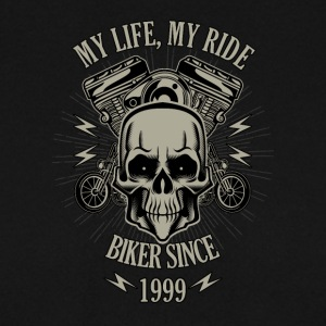 Gift for Biker - Year 1999 - Men's Sweatshirt