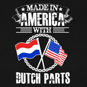 Made in America with Dutch Parts - Männer Pullover