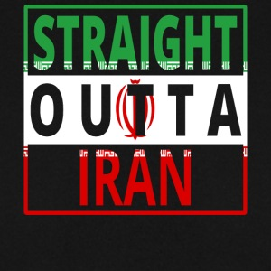 Straight outta IRAN png - Men's Sweatshirt