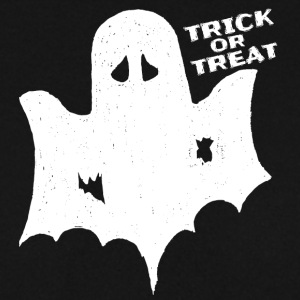 Skræmmende Halloween kostume shirt Trick Treat Ghost - Herre sweater