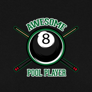 Awesome pool player - Men's Sweatshirt