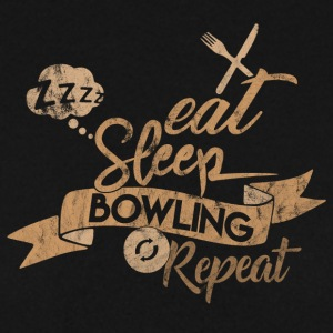 EAT SLEEP BOWLING REPEAT - Herre sweater