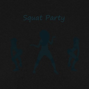 Squat party blå - Herre sweater