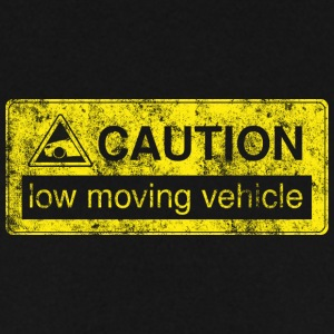 caution lowmovingvehicle by GusiStyle - Men's Sweatshirt