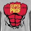 professeur super corps muscle bodybuildi - Sweat-shirt Homme